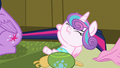 Flurry Heart pulls harshly on Twilight's tail S7E3.png