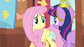 Fluttershy hurry Twilight! S3E13.png