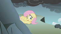 Fluttershy scared of the cliff S1E07