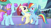 Rainbow Dash who said what S3E1