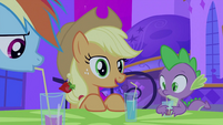 Applejack talking S2E25