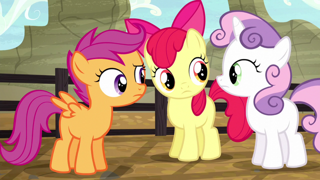 File:Cutie Mark Crusaders confused S5E6.png
