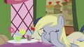 Derpy puts hooves on her face S5E9.png