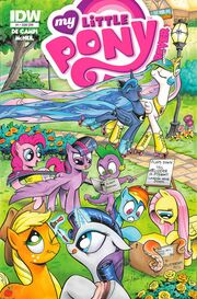 Friends Forever issue 1 sub cover
