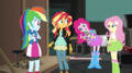 Pinkie Pie reaching into her hair EGS2.png
