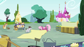 Ponies cleaning up S4E23.png