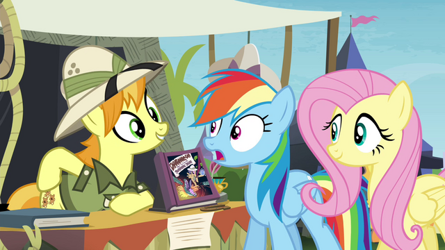 "File:Daring Do collector ""if you can get me the orthros"" S4E22.png"
