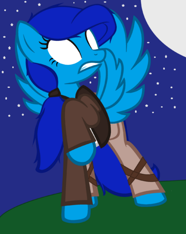 File:FANMADE Amelia the Writer Blue.png