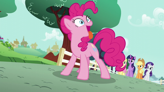 File:Pinkie Pie acting like a dog S5E19.png