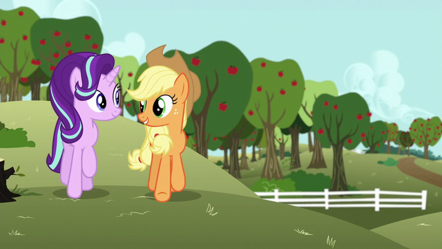 "File:Applejack ""I have just the pony for you"" S6E6.png"