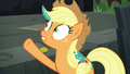 Applejack tells Method Mare to wait S5E16.png