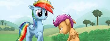 FANMADE My Little Investigations Rainbow Dash and Scootaloo.jpg