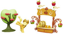 FiM Collection Sweet Apple Juice Stand Large Story Pack