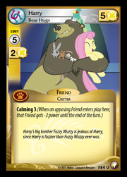Harry, Bear Hugs card MLP CCG