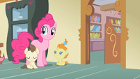 Pinkie Pie there goes Mrs. Cake S2E13