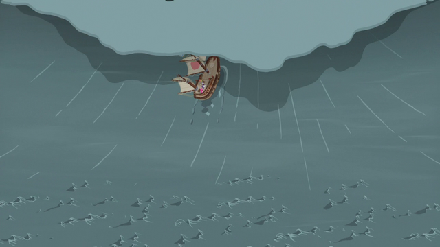 File:Ponies' ship consumed by the tidal wave S6E22.png