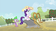 Rarity on a plow S4E13