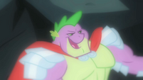 Spike in his imagination S1E19