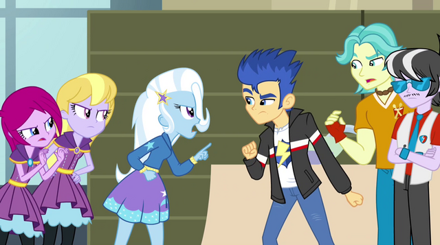 File:Trixie and Flash Sentry arguing EG2.png