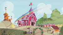 Rainbow hides at Sweet Apple Acres S1E05