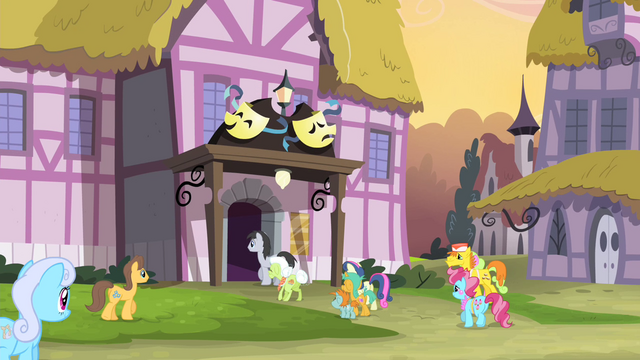 File:Ponies entering the theater S4E19.png
