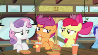 "Scootaloo ""I look sad"" S4E15"