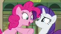 "Pinkie ""Because guess who I see!"" S6E3"