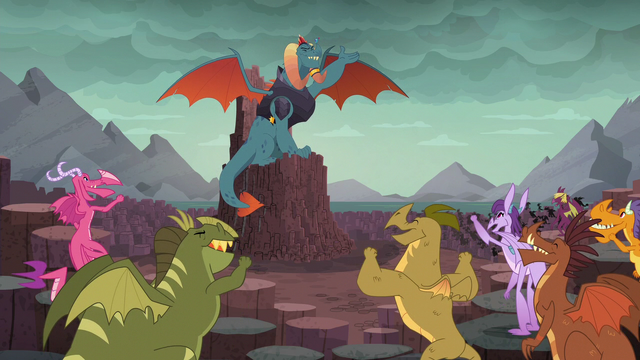 File:Dragons cheer for Dragon Lord Ember S6E5.png