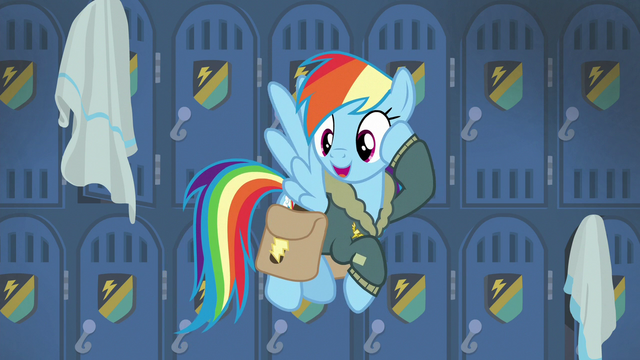 "File:Rainbow Dash ""see you gals later!"" S6E24.png"