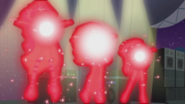 Red lights surround the Dazzlings EG2