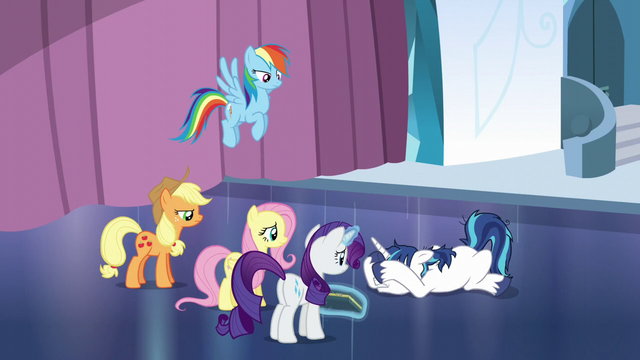 File:Shining Armor collapses with anxiety S6E1.png