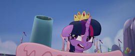 Twilight Sparkle yelling at Pinkie Pie MLPTM