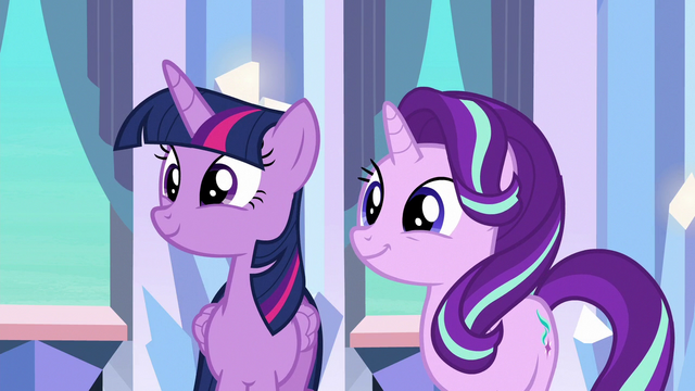 File:Twilight and Starlight happy for Thorax S6E16.png