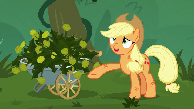 File:Applejack wipes her sweat away S5E16.png