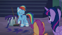 """Rainbow Dash """"this mess is my responsibility"""" S6E7"""