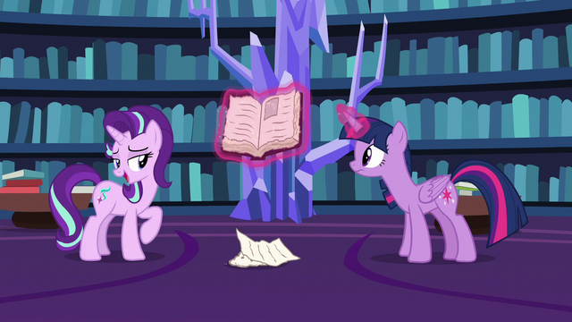 """File:Starlight """"judge a book by its cover just this once"""" S7E14.png"""