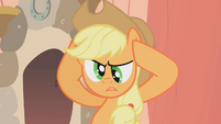 Applejack cross eyed S1E8