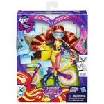 Friendship Games Sporty Style Sunset Shimmer doll packaging