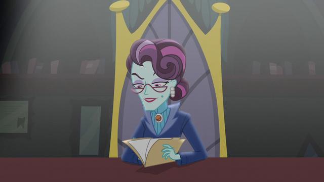 File:Principal Cinch looks at Twilight's application EG3.png