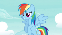 "Rainbow ""flying's not just flying"" S4E21"
