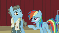"Rainbow Dash ""that is so not cool"" S5E15"