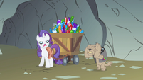 Rarity pull it S1E19