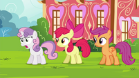 "Sweetie ""with Princess Twilight all the time!"" S4E15"