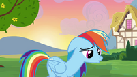 Rainbow Dash sad S2E16