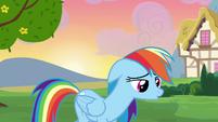 Rainbow Dash sad S2E16