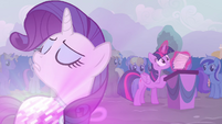 "Rarity ""Twilight refused to admit it"" S4E16"
