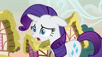 "Rarity ""achieve the best designs possible"" S7E9"