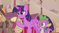 "Twilight ""you don't know who I am?"" S5E25"