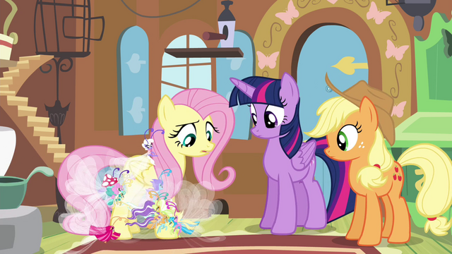 File:Breezies gathering around Fluttershy S4E16.png