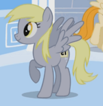 Derpy with her number tag S1E16